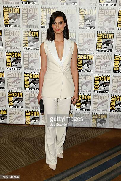 Morena Baccarin attends the 20'th Century Fox Press Line at ComicCon International 2015 Day 3 on July 11 2015 in San Diego California