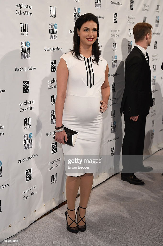 Morena Baccarin attends the 25th IFP Gotham Independent Film Awards cosponsored by FIJI Water on November 30 2015 in New York City