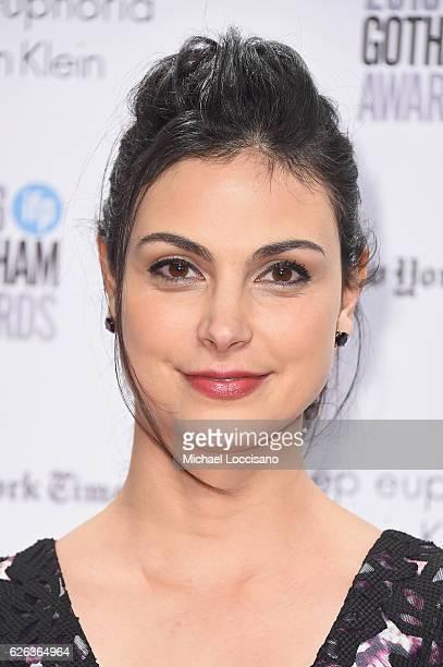 Morena Baccarin attends the 26th Annual Gotham Independent Film Awards at Cipriani Wall Street on November 28 2016 in New York City