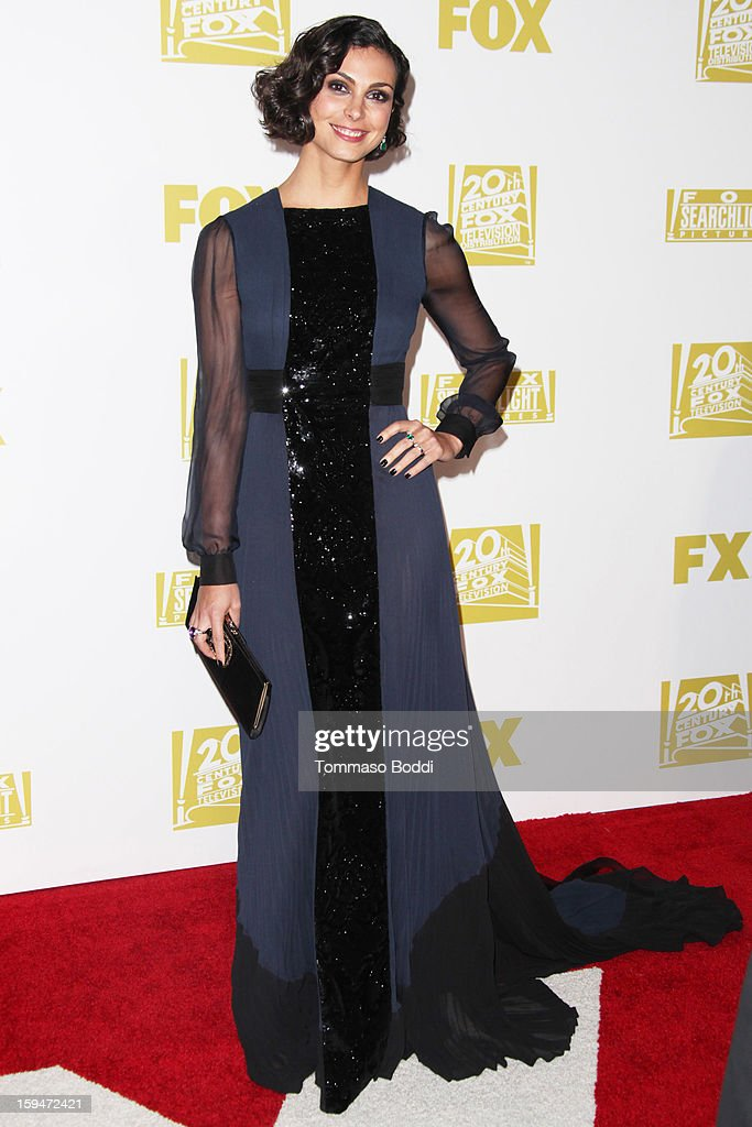 Morena Baccarin attends the FOX Golden Globe after party held at the FOX Pavilion at the Golden Globes on January 13, 2013 in Beverly Hills, California.
