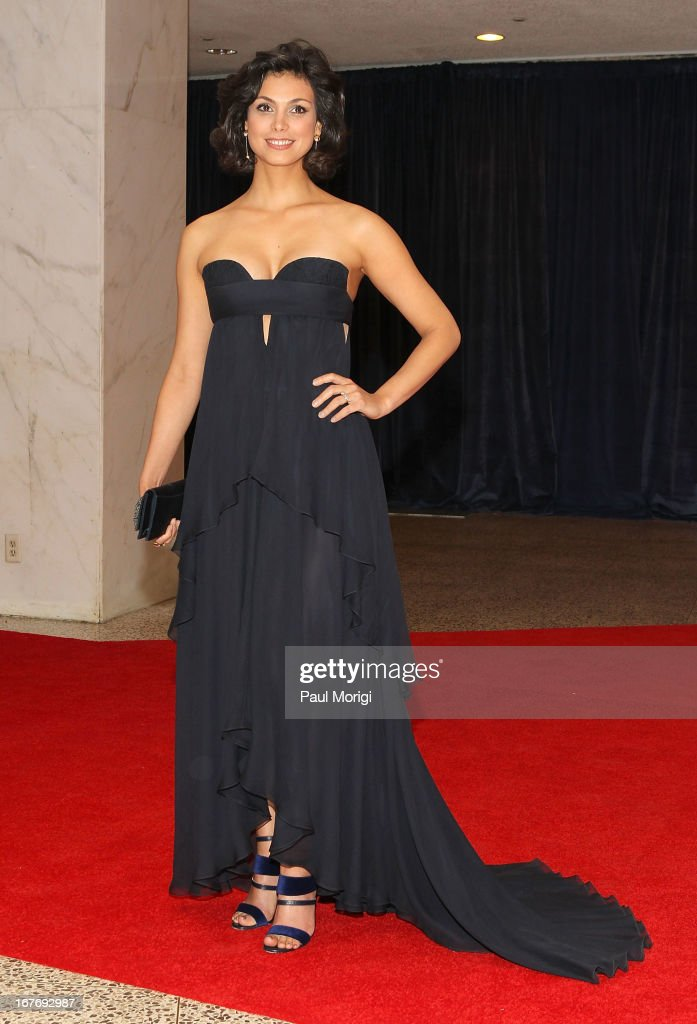 Morena Baccarin attends the White House Correspondents' Association Dinner at the Washington Hilton on April 27, 2013 in Washington, DC.