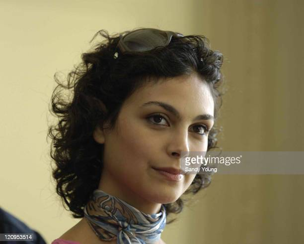 Morena Baccarin during 59th Edinburgh International Film Festival 'Serenity' Photocall at Balmoral Hotel in Edinburgh Great Britain