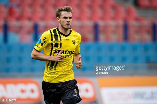 Moreno Rutten of VVV during the Dutch Eredivisie match between Vitesse Arnhem and VVV Venlo at Gelredome on September 17 2017 in Arnhem The...