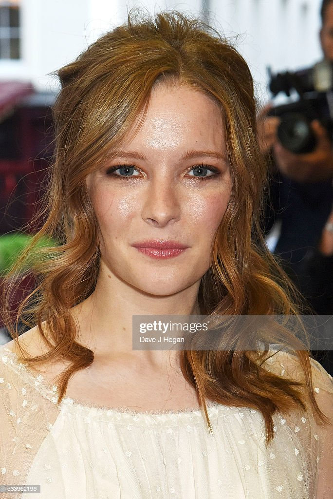 Morfydd Clark attends the UK premiere of 'Love and Friendship' at The Curzon Mayfair on May 24, 2016 in London, England.