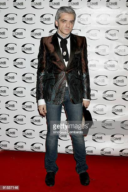 Morgan attend the Just Cavalli Hollywood Opening Party as part of the Milan Womenswear Fashion Week Spring/Summer 2010 on September 24 2009 in Milan...