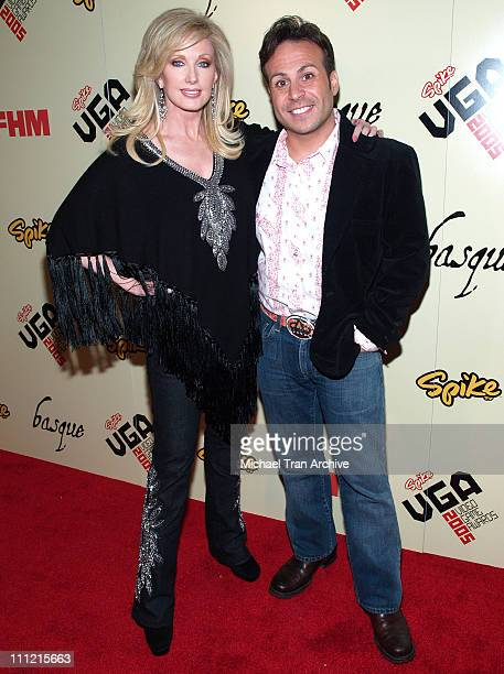 Morgan Fairchild and Ant during 2005 Spike TV Video Game Awards Party Hosted by FHM and SpikeTV Arrivals at Basque in Hollywood California United...