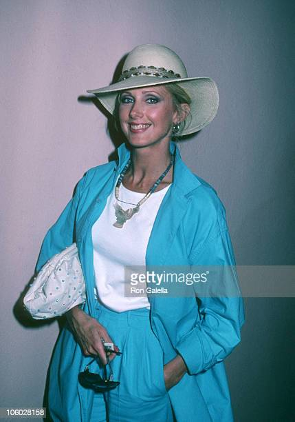 Morgan Fairchild during Celebrity Easter Brunch April 3 1982 at Beverly Hills Hotel in Beverly Hills California United States
