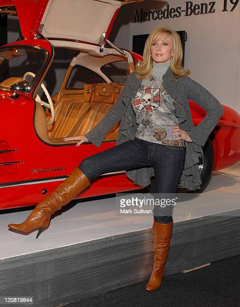 Morgan Fairchild during MercedesBenz Spring 2007 LA Fashion Week at Smashbox Studios Arrivals Day 2 at SmashBox Studio in Culver City California...