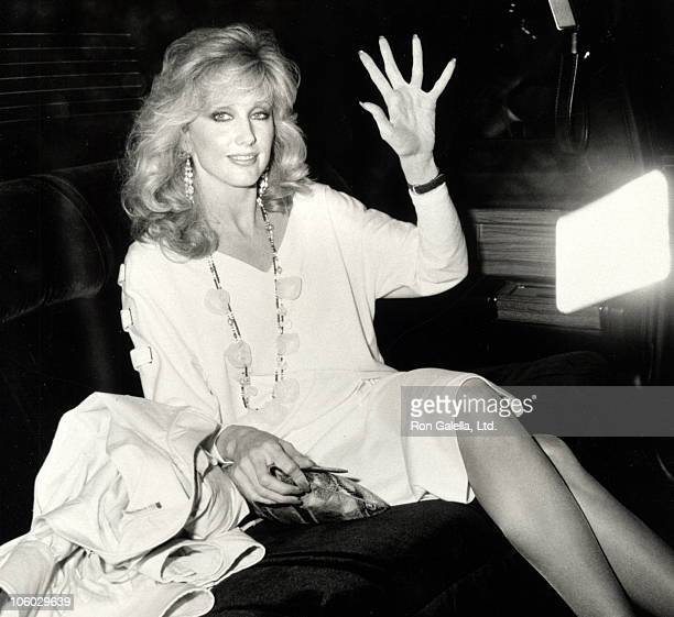 Morgan Fairchild during Morgan Fairchild Sighted at Tavern on the Green April 30 1984 at Tavern on the Green in New York City New York United States