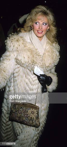Morgan Fairchild during Morgan Fairchild Sighting at NBC Studios at Rockefeller Center in New York New York United States