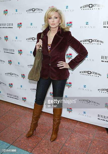 Morgan Fairchild during The Screen Actors Guild Foundation and Zimand Entertianment Host Los Angeles Children's Love Equals Writing Contest at...