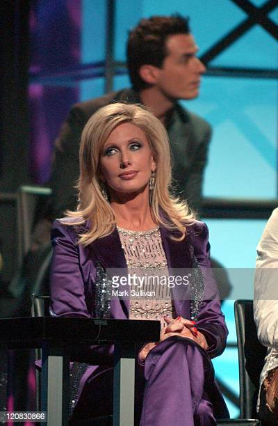 Morgan Fairchild during VH1's 'But Can They Sing' Taping November 11 2005 at Tribune Studios in Hollywood California United States