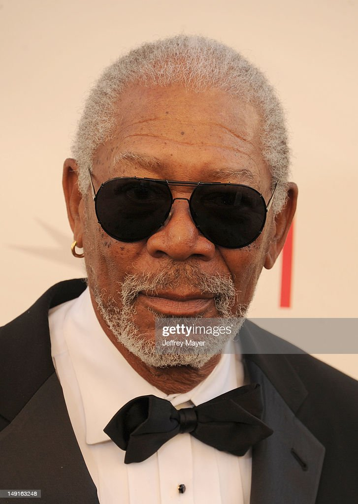 Morgan Freeman arrives at the 40th AFI Life Achievement Award honoring Shirley MacLaine at Sony Pictures Studios on June 7, 2012 in Los Angeles, California.