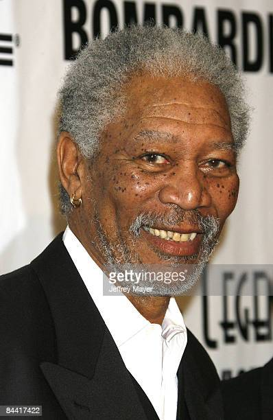 Morgan Freeman arrives at the 6th Annual Living Legends of Aviation Awards Ceremony at The Beverly Hilton on January 22 2009 in Beverly Hills...