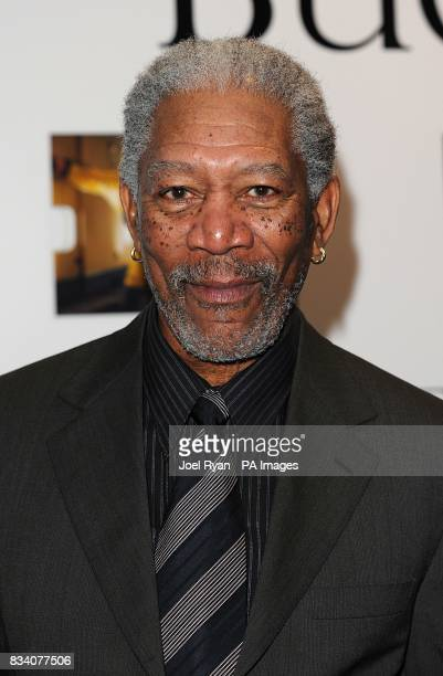 Morgan Freeman arrives for the UK Premiere of The Bucket List at the Vue West End London