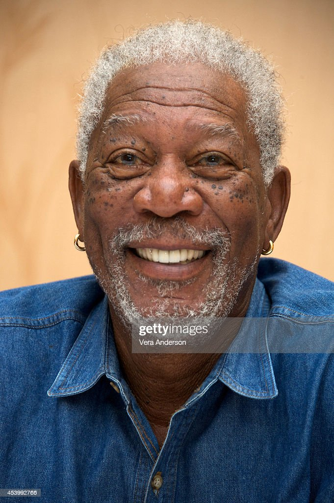 Morgan Freeman at the 'Dolphin Tale 2' Press Conference at the Sheraton Sand Key Resort on August 19 2014 in Clearwater Florida