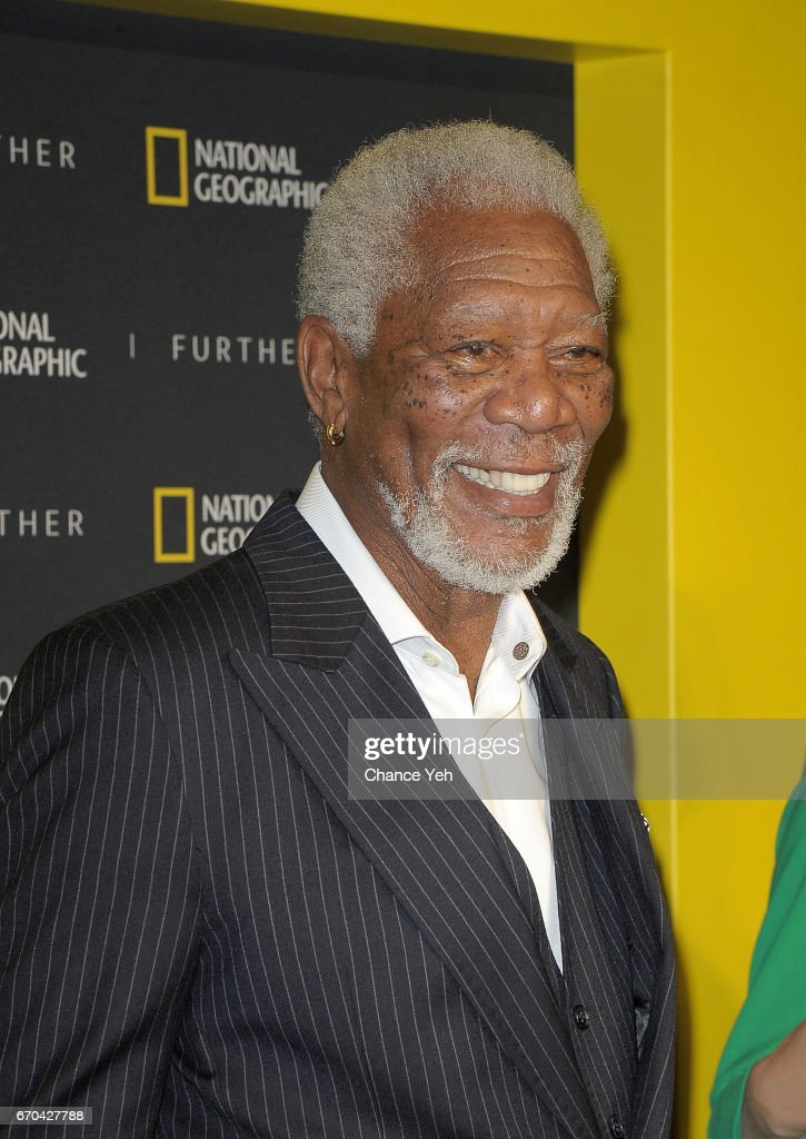 Morgan Freeman attends National Geographic FURTHER FRONT at Jazz at Lincoln Center's Frederick P. Rose Hall on April 19, 2017 in New York City