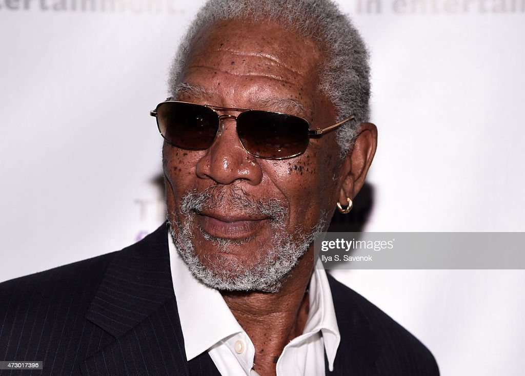 Morgan Freeman attends the 2015 Actors Fund Gala at The New York Marriott Marquis on May 11 2015 in New York City