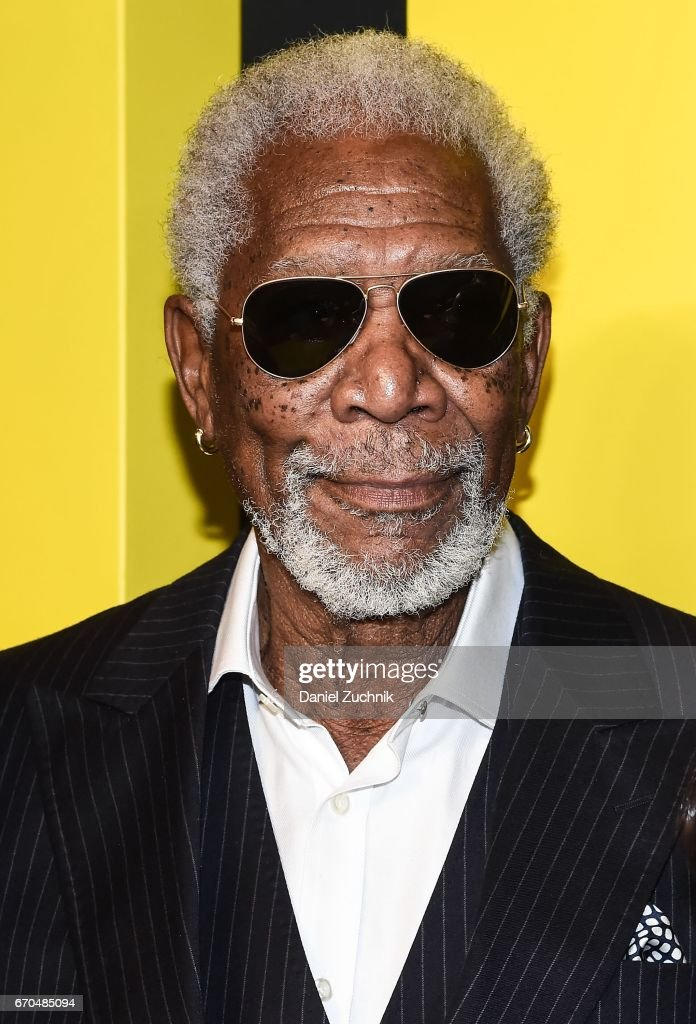 Morgan Freeman attends the 2017 National Geographic FURTHER FRONT at Jazz at Lincoln Center's Frederick P. Rose Hall on April 19, 2017 in New York City