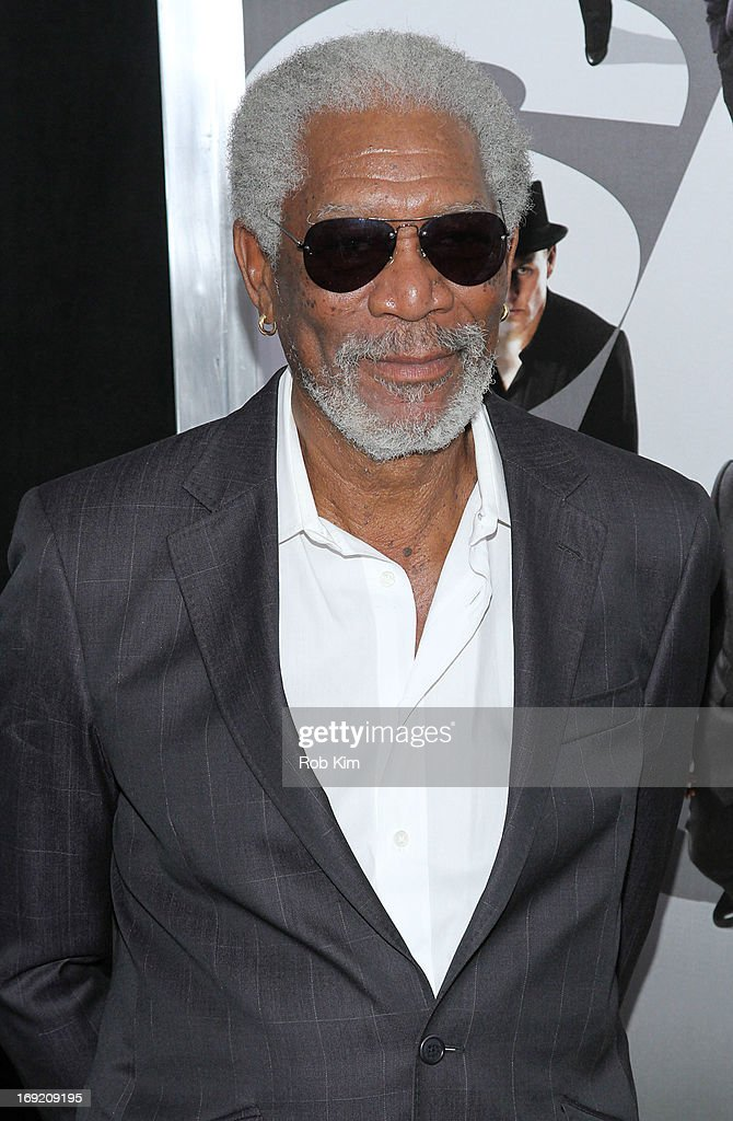 <a gi-track='captionPersonalityLinkClicked' href=/galleries/search?phrase=Morgan+Freeman&family=editorial&specificpeople=169833 ng-click='$event.stopPropagation()'>Morgan Freeman</a> attends the 'Now You See Me' New York Premiere at AMC Lincoln Square Theater on May 21, 2013 in New York City.