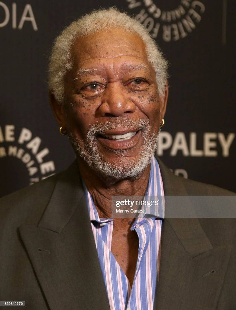 Morgan Freeman attends The Paley Center Presents 'The Story of Us' with Morgan Freeman at The Paley Center for Media on September 28, 2017 in New York City.