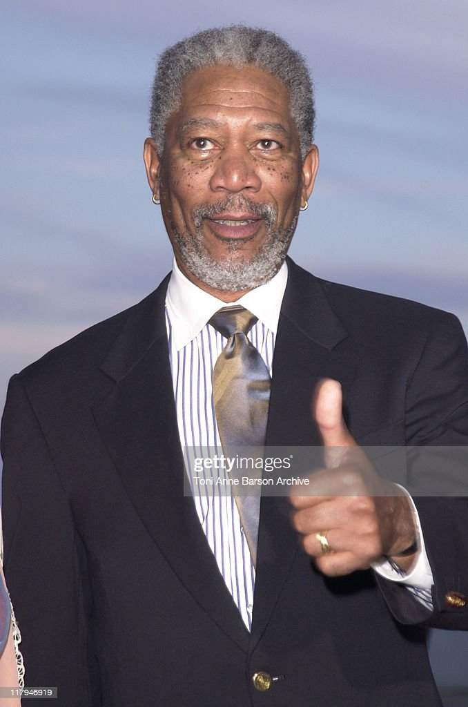 Morgan Freeman during Laureus World Sports Awards Dinner and Silent Auction - Arrivals at Monte Carlo Sporting Club in Monte Carlo, Monaco.