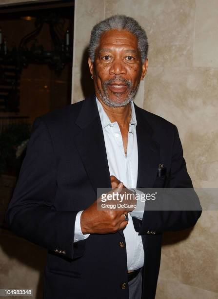 Morgan Freeman during 'Sunshine State' Premiere Los Angeles at SilverScreen Theatre in West Hollywood California United States