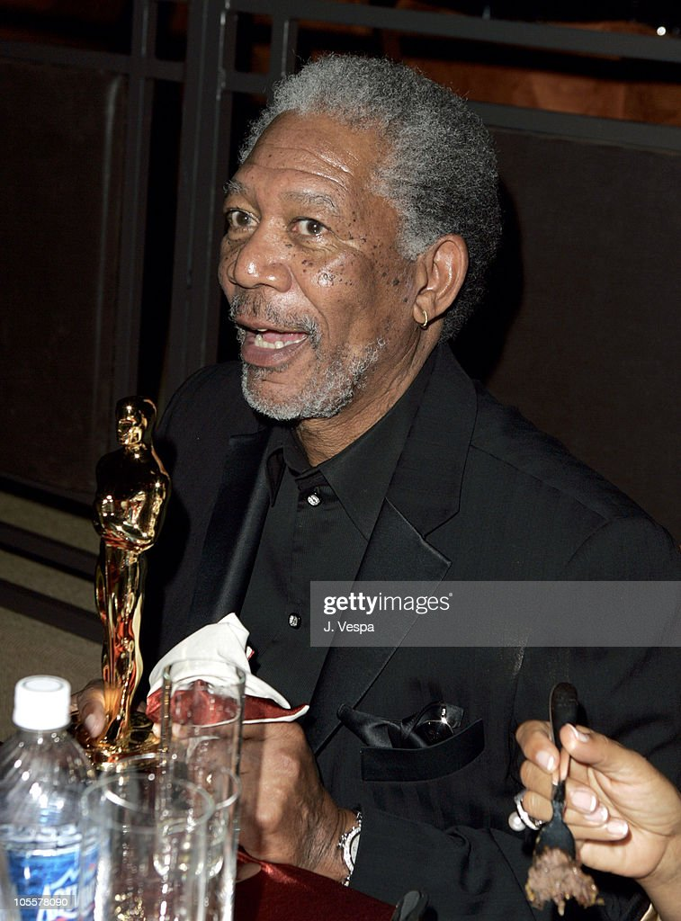 Morgan Freeman during The 77th Annual Academy Awards - Governors Ball at Kodak Theatre in Hollywood, California, United States.