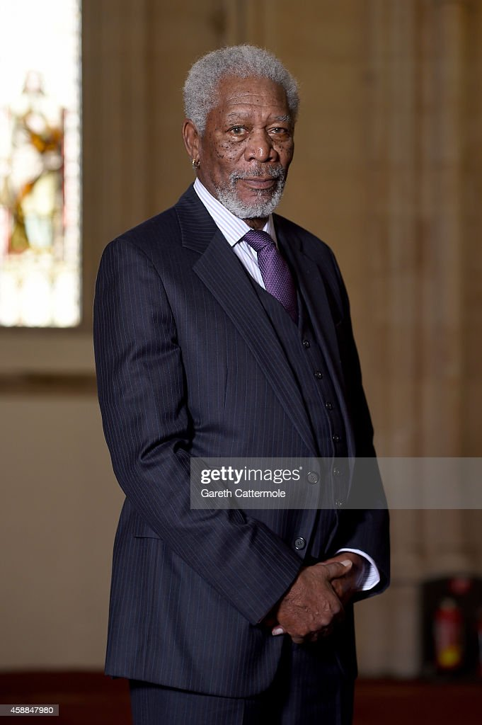 Morgan Freeman Receives The Freedom Of The City Of London
