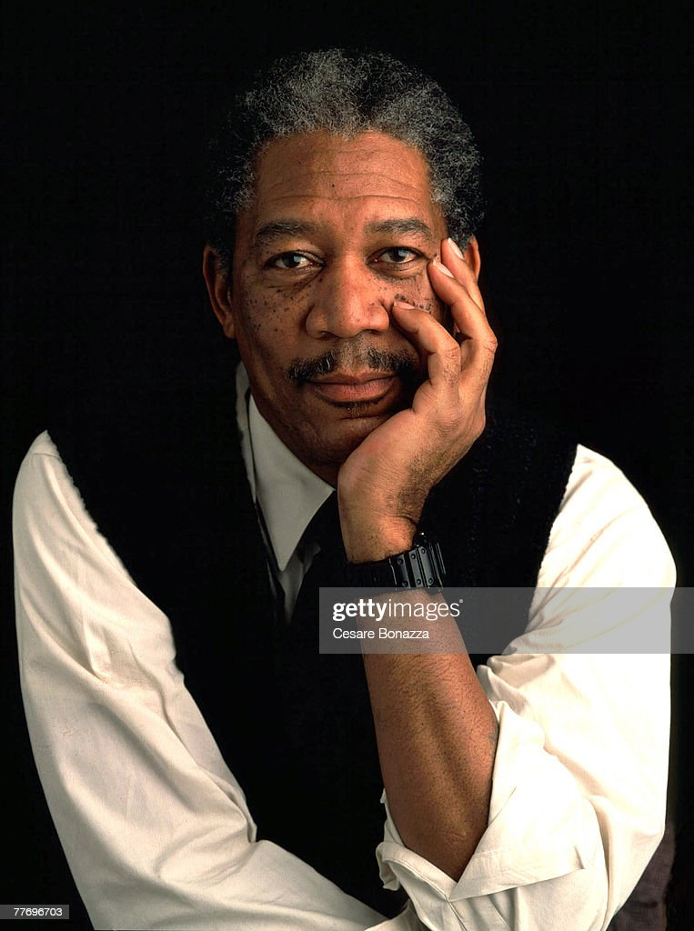 Morgan Freeman; Studio in Los Angeles; Morgan Freeman, Self Assignment, January 10, 2000; Los Angeles; California.