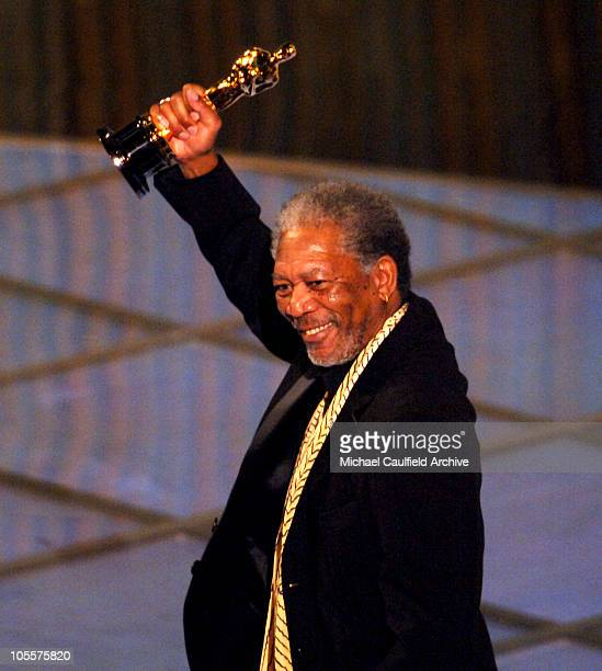 Morgan Freeman winner Best Actor in a Supporting Role for 'Million Dollar Baby'