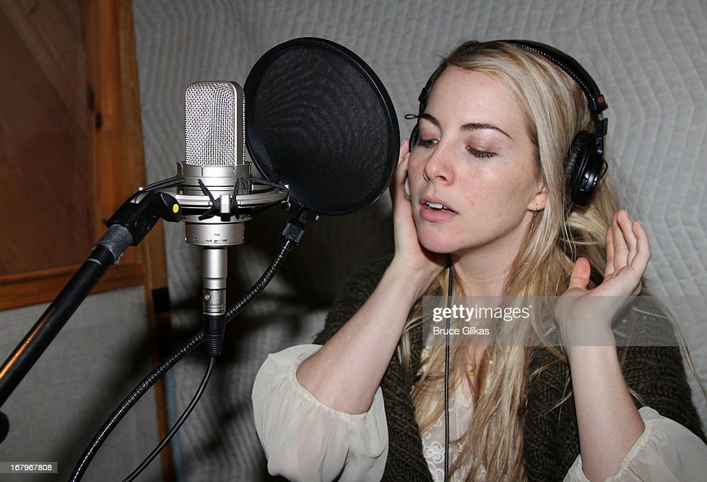 The Musical' Original Broadway Cast Recording Session at MSR Studios in Times Square on May 2, 2013 in New York City.