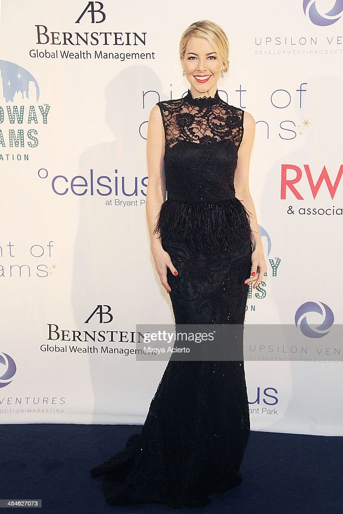 Morgan James attends the 2013 Broadway Dreams Foundation's 'Night Of Dreams' gala at Celsius on December 9, 2013 in New York City.