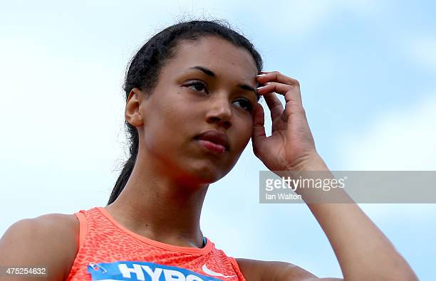 Morgan Lake of Great Britain competes in the Women's shot put during the women's heptathlon during the Hypo meeting Gotzis 2015 at the Mosle Stadium...
