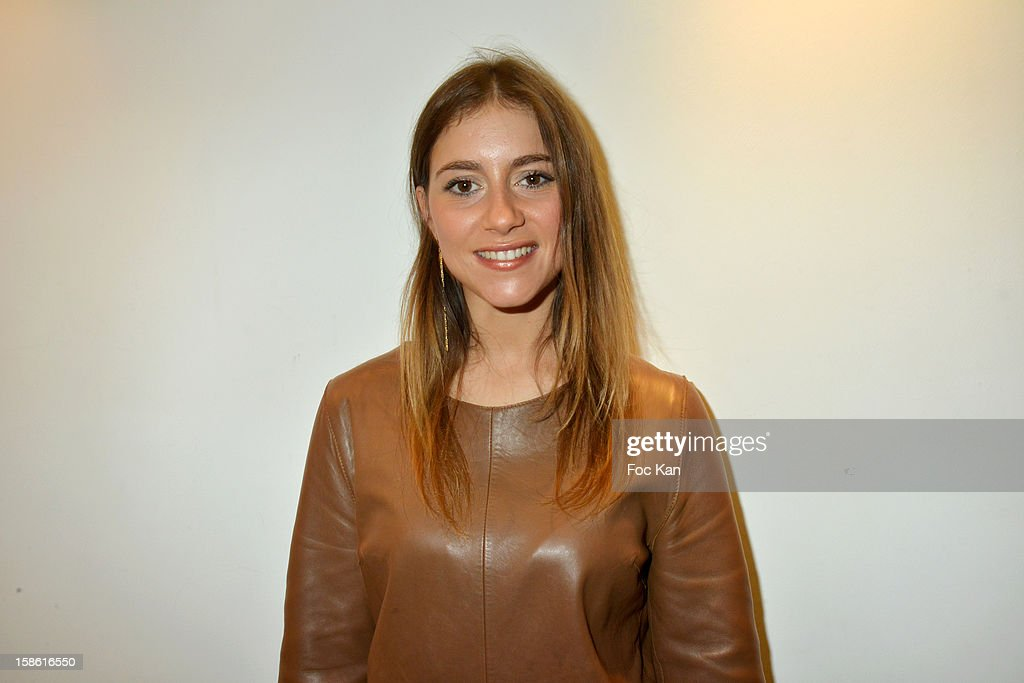 Morgan LaMonica attends the 'Starter TV' Launch Party at Espace Brey on December 20, 2012 in Paris, France.