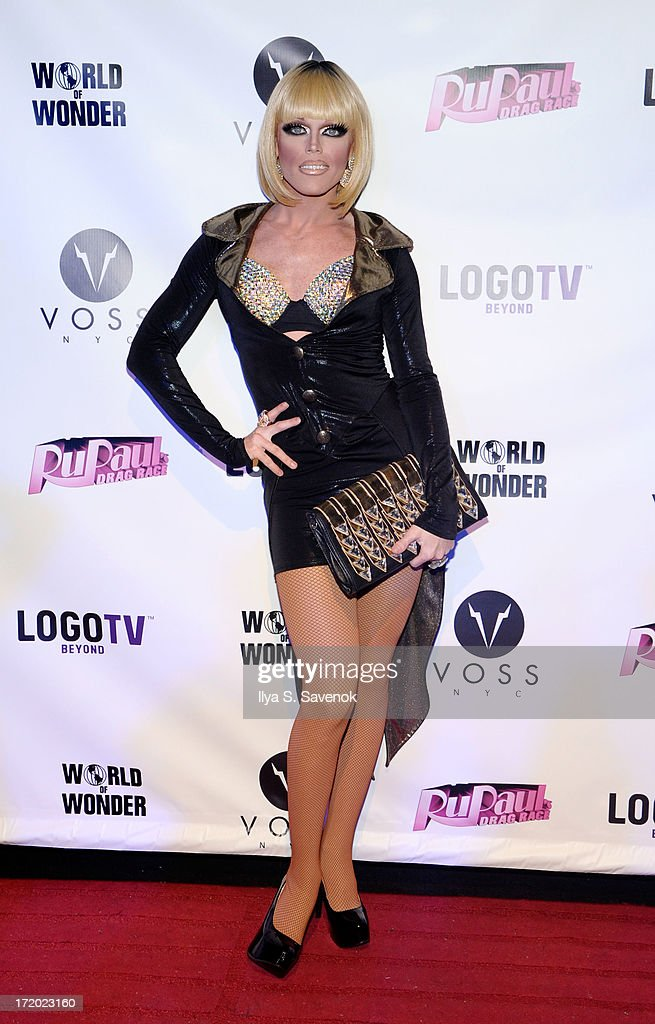 Morgan McMichaels attends Logo TV's Official Pride NYC 2013 Event at Highline Ballroom on June 30, 2013 in New York City.