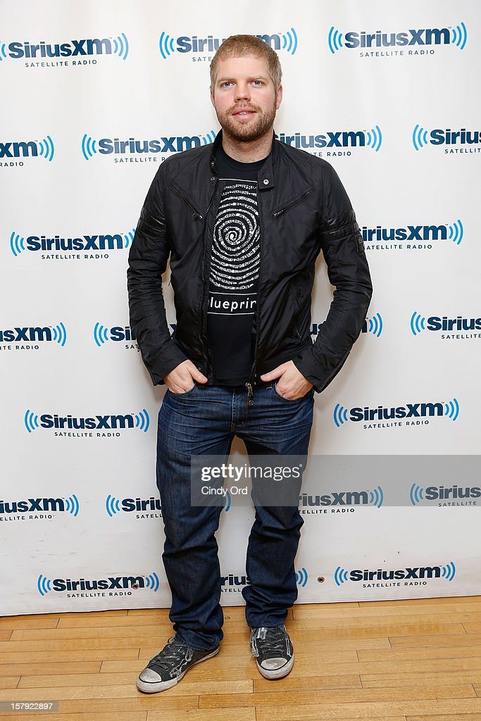 DJ Morgan Page visits the SiriusXM Studios on December 7, 2012 in New York City.