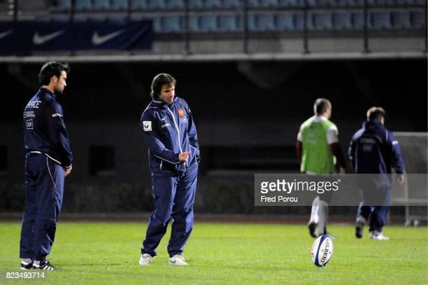 Morgan PARRA / Gonzalo QUESADA Entrainement de l equipe de France a Marcoussis