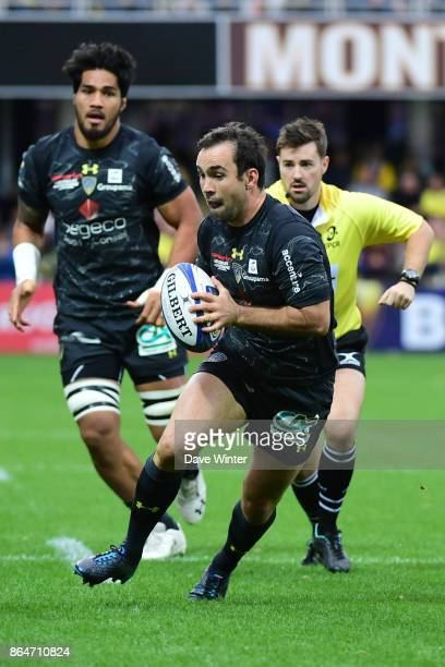 Morgan Parra of Clermont during the European Rugby Champions Cup match between Clermont Auvergne and Northampton Saints on October 21 2017 in...
