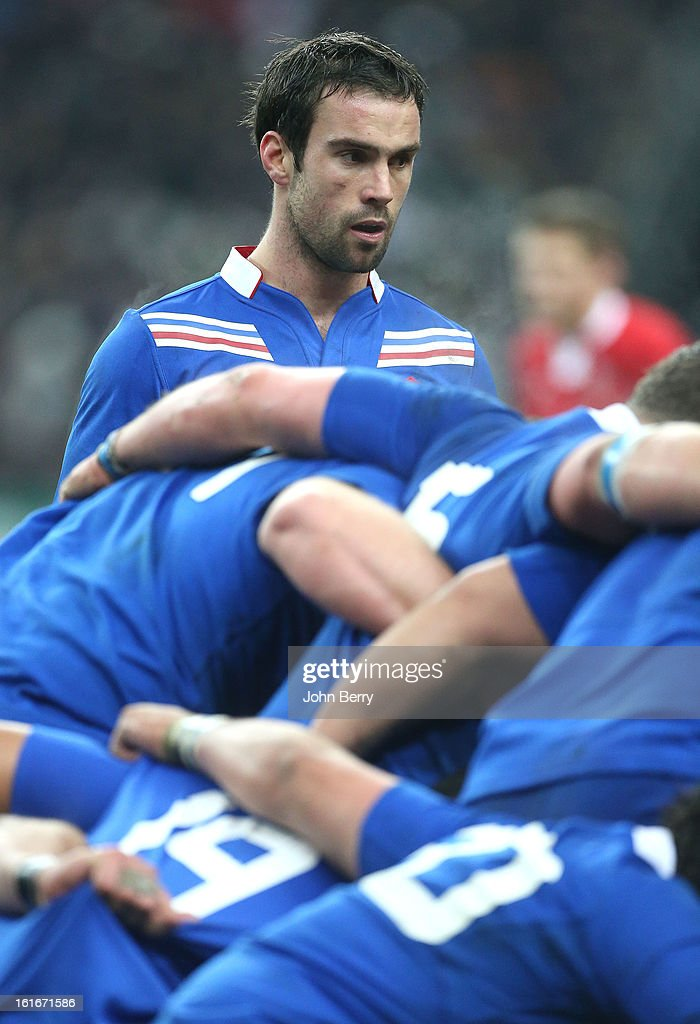 Morgan Parra of France in action during the 6 Nations match between France and Wales at the Stade de France on February 9, 2013 in Paris, France.
