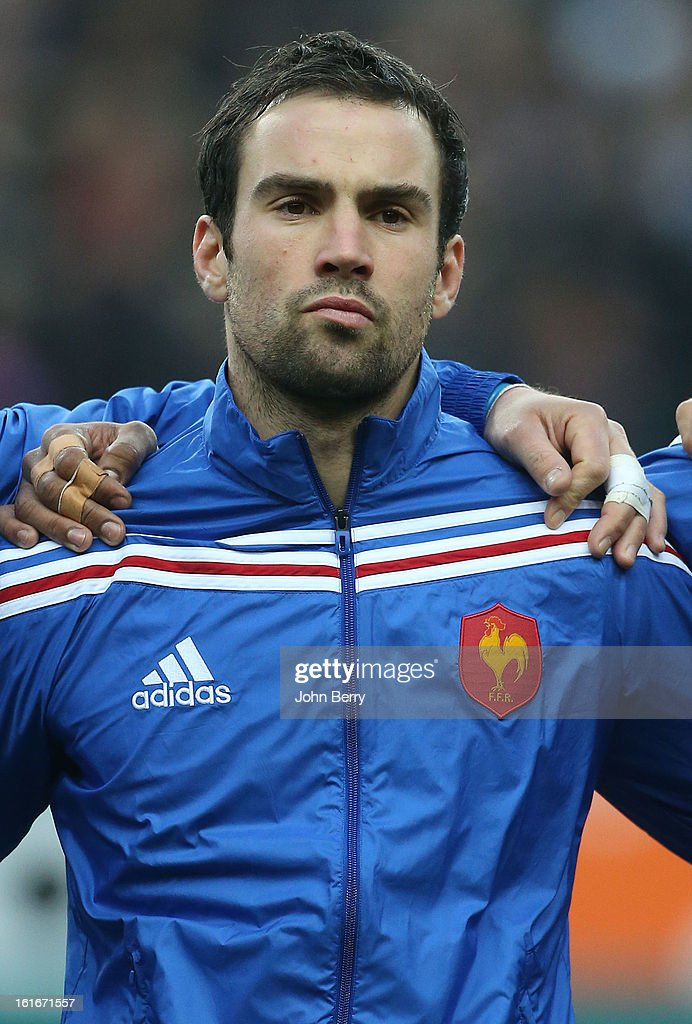 Morgan Parra of France poses before the 6 Nations match between France and Wales at the Stade de France on February 9, 2013 in Paris, France.