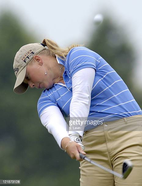 Morgan Pressel during the second round of the 2006 Corning Classic at the Corning Country Club in Corning NY on Friday May 26 2006