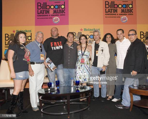 Morgan Renee Carrillo D' Aldo Romano Urban Box Office President/CEO Adam Kidron Universal Music Latino President John Echevarria Latin Billboard...