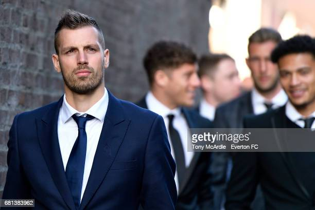 Morgan Schneiderlin during the Everton End of Season Awards on May 9 2016 in Liverpool England
