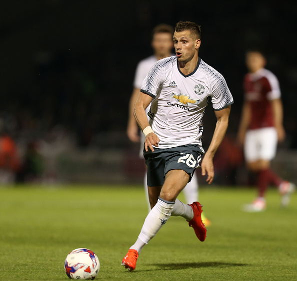 Northampton Town v Manchester United - EFL Cup Third Round : News Photo