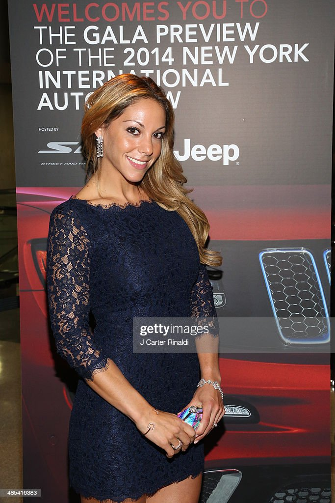 Morgan Shara attends the East Side House Gala Preview during the 2014 New York Auto Show at the Jacob Javits Center on April 17, 2014 in New York City.