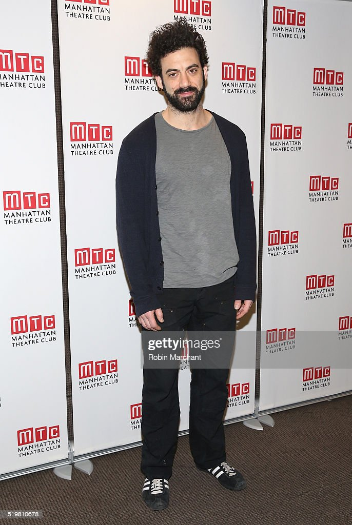 Morgan Spector attends 'Incognito' Cast Meet Greet at Manhattan Theatre Club Rehearsal Studios on April 8 2016 in New York City