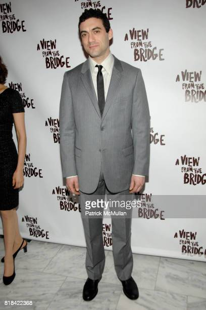 Morgan Spector attends Opening Night After Party A VIEW FROM THE BRIDGE at ESPACE on January 24 2010 in New York City