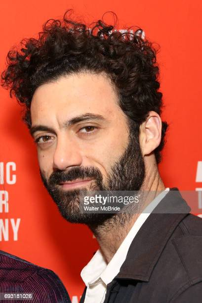 Morgan Spector attends the Opening Night of the Atlantic Theater Company's New York Premier play 'Animal' at Jake's Saloon on June 6 2017 in New York...