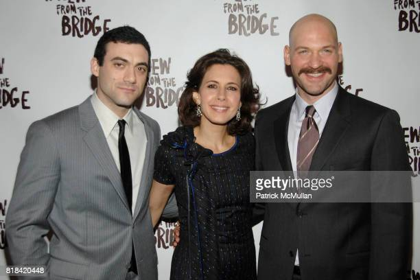 Morgan Spector Jessica Hecht and Corey Stoll attend Opening Night After Party A VIEW FROM THE BRIDGE at ESPACE on January 24 2010 in New York City